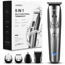 ATMOKO Mens Beard Trimmer Grooming Kit Professional Hair Trimmer Mustache Trimme image 2