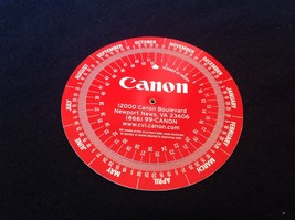 Canon Weeks Calendar, PM tool tells exact date a number of weeks ahead (1) - $5.23