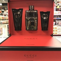 Gucci Guilty By Gucci 3PCs Men Set, 3.0 Oz + Aftershave Balm + All Over Shampoo - $82.98