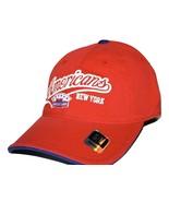 New York Americans NHL Vintage Retro Stretch Fit Slouch Hockey Cap Hat  S/M - $18.99