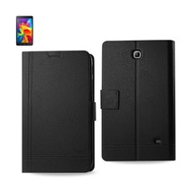 REIKO SAMSUNG GALAXY TAB 4 7.0 FLIP FOLIO FREE STAND CASE IN BLACK - $10.78