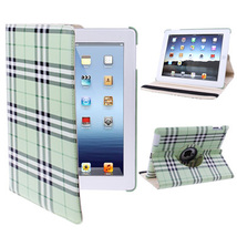 For iPad 4/3/2 Light Green 360° Rotatable Scotland Gyrosigma Case with H... - $15.29