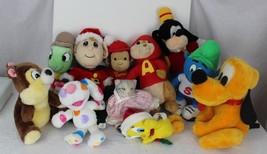 lot vintage Disney stuffed plush toys dolls mix - $21.11