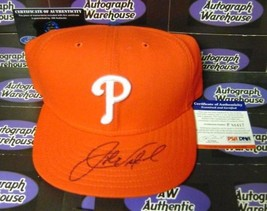 John Vuckovich autographed Phillies hat cap (1980 World Series Champion) PSA - $75.00