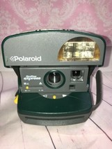 Polaroid One Step Green Express 600 Close Up Instant Film Camera Sold No... - $37.39