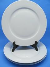"Ikea 365+ Susan Pryke White 10.5"" Dinner Plates Set Of 3 Plates - $29.39"