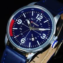 CURREN Mens Watches Top Brand Luxury Wrist Watch Men CURREN Quartz Wristwatches  - $35.31