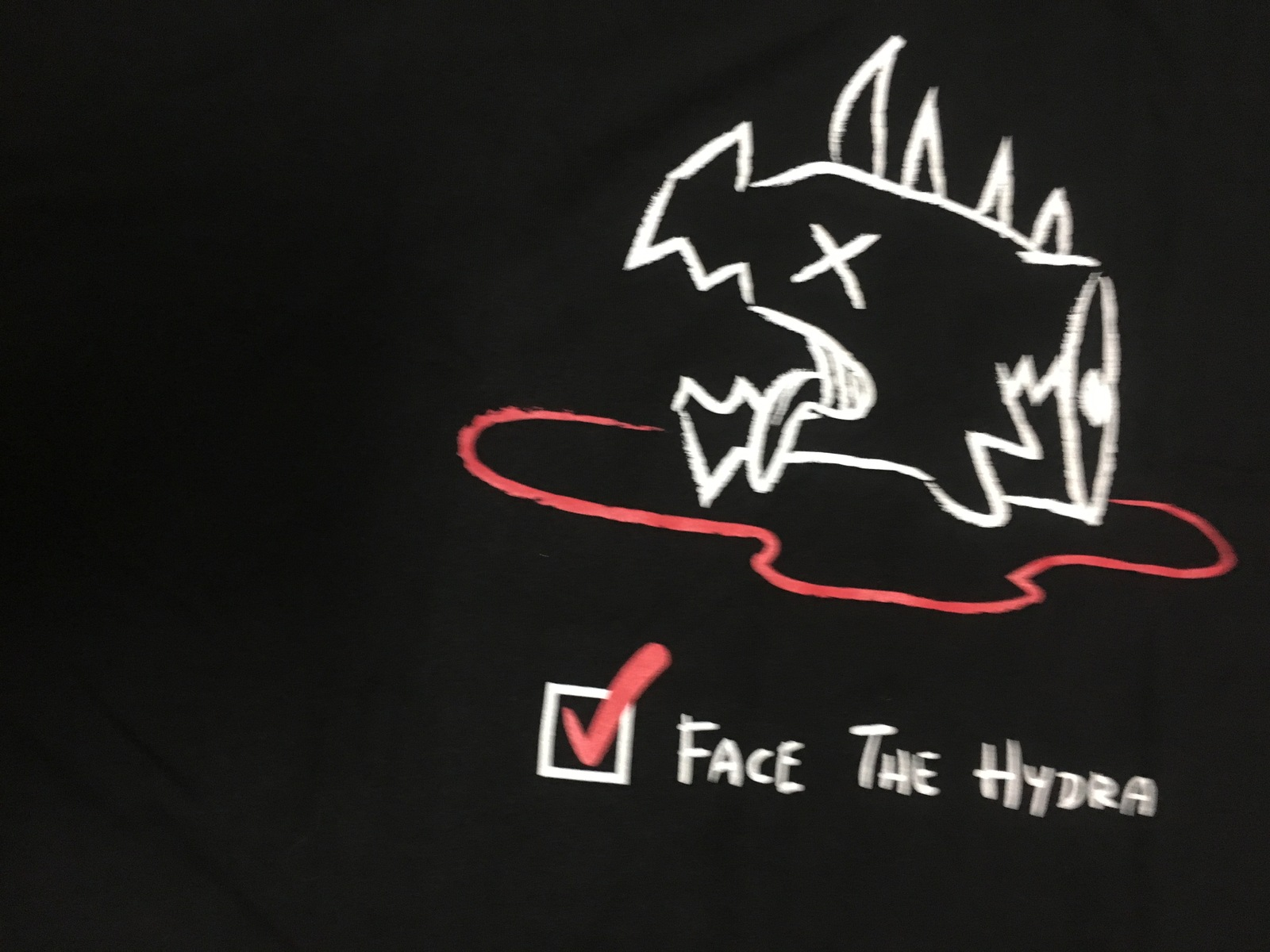 Magic the Gathering Face The Hydra T-Shirt 2XL