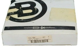 BOX OF 5 NEW COOPER BUSSMANN FWH-100A SEMICONDUCTOR FUSES FWH100A