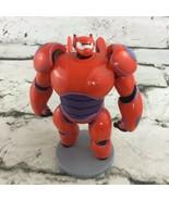 Disney Big Hero 6 Red Baymax Mech Platform Figure PVC Cake Topper Robot ... - $11.88