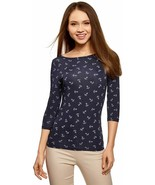 oodji Collection Women's Printed 3/4 Sleeve T-Shirt - $26.92+