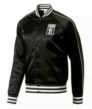 $110 Puma x Big Sean Satin Jacket Men's Sz L or XL Black/White 578640-01... - $74.99