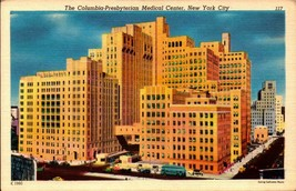 LINEN POSTCARD- COLUMBIA-PRESBYTERIAN MEDICAL CENTER, NEW YORK CITY, NY ... - $2.94