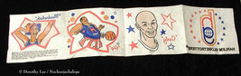 Harlem Globetrotters Iron On Transfers Cereal Premium - $15.99