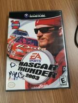Nascar Thunder 2003 Nintendo Gamecube COMPLETE CIB - Case / Manual / Tested - $5.55