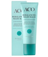 ACO Pure Glow Rebalancing Night Balm 50ml/1.7oz | For Normal / Combined ... - $38.00