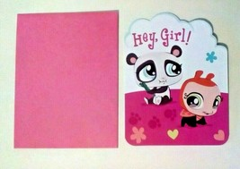 American Greetings Littlest Pet Shop Birthday Card For A Girl - $2.94