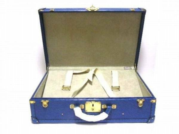 LOUIS VUITTON LV Bisten 60 Attache Briefcase Epi Leather Hard Case Trunk Rare
