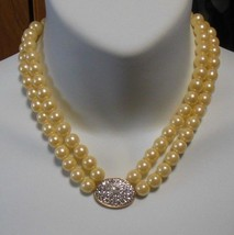 Avon President's Recognition Pearlesque Necklace 2005 HS - $24.74