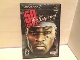 50 Cent: Bulletproof (PlayStation 2 PS2) Black Label CASE & Game - $13.54
