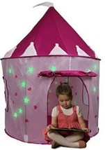 Kids Play Tents And Tunnels For Girls Playhouse Kids Children Castle Glo... - $35.11