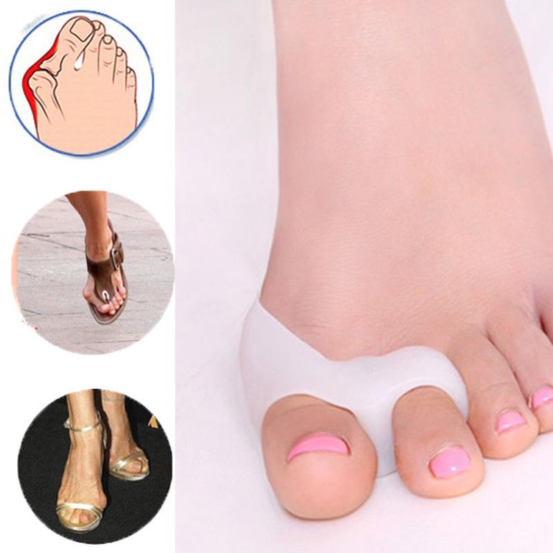 Er big bone thumb bunion corrector hallux valgus pedicure tools toes separator plantar fasciitis