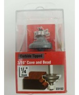 Vermont American  1-1/4 in. Dia. x 3/16 in.  x 2-1/4 in. L  Cove and Bea... - $13.99