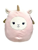 "NWT SQUISHMALLOW ALICE the Pink LLAMA PEGACORN PLUSH DOLL 2021 Easter 11"" - $27.08"