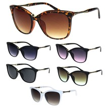 Womens Large Cat Eye Designer Plastic Fashion Luxury Sunglasses - $12.95