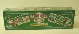 1990 Collectors Choice Baseball Card Set 3D Team Logo Holograms High Num... - $18.50