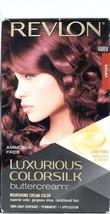 1 Revlon Luxurious Colorsilk Permanent Hair Color Buttercream 48BV Burgundy - $12.99