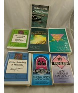 Edgar Cayce VHS and Audio Cassette Lot - $63.61