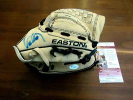 ERIC CHAVEZ OAKLAND A'S YANKEES DIAMONDBACKS SIGNED AUTO EASTON GLOVE MI... - $148.49