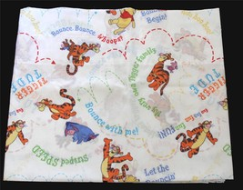 Winnie the Pooh & Friends & Script Blouson or Regular Valance 84 x 18 NW... - $19.99