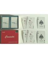 2 Decks Vintage Union 76 Amsco Playing Cards Canasta sliding box gas tra... - $14.84