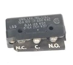 HONEYWELL MICRO SWITCH DT-2R-A7 MS 250081 LIMIT SWITCH 10A, 125/250VAC image 3