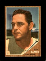 1962 Topps #485 Pedro Ramos Ex Indians *XR22302 - $5.00