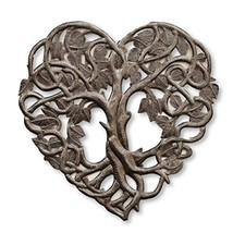 Heart Wall Decor, Tree of Life, Decoration of Love and Friendship Wall Hanging P