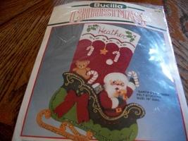 Bucilla Christmas Kit 82729~Santa's Surprises Felt Stocking - $40.00