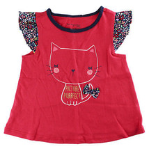 """75a588ad7 First Impressions Baby Girls """"Picture Purrfect"""" Cat T-Shirt, ..."""