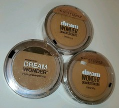 Set of 3 Maybelline Dream Wonder Compact Face Pressed Powder 95 coconut (D) - $20.00