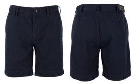"$99 Polo Ralph Lauren Men's Straight Fit 8"" Chino Shorts, Navy, Size 36 - $69.29"