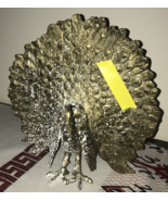 Silver Toned Metal Peacock Figure - $6,237.00