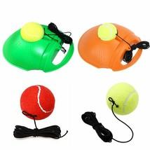 Tennis Training Tool Exercise Rebound Ball Trainer Practice Back Base Ba... - $7.35+