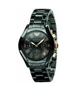 Emporio Armani AR1411 Ceramic Black Mens Chronograph Watch - $138.50