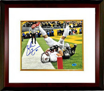 Primary image for Zach Ertz signed Stanford Cardinal 8x10 Photo #86 Custom Framed (TD Catch)