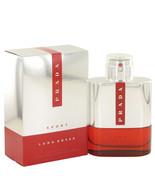 Prada Luna Rossa Sport by Prada Eau De Toilette Spray 3.4 oz - $93.95