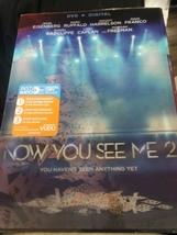 DVD Now You See Me 2 Daniel Radcliffe Morgan Freeman  PG 13 - $6.99