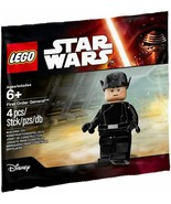 Star Wars First Order General Minifigure by Lego New in Bag 6 Pcs - $19.79