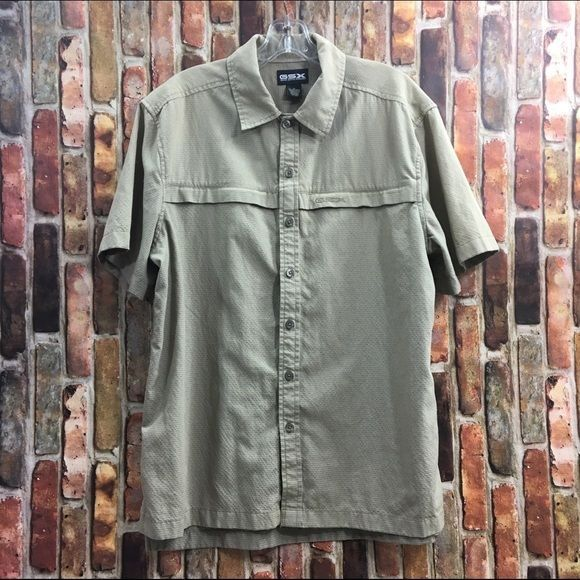 REDUCED! Gander Mountain GSX Guide Series Extreme quick dry fishing shirt, sz. M